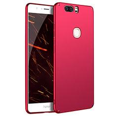 Schutzhülle Kunststoff Hülle Matt M07 für Huawei Honor V8 Rot