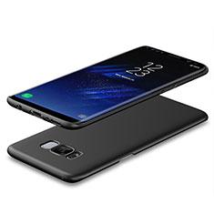 Schutzhülle Kunststoff Hülle Matt M08 für Samsung Galaxy S8 Plus Schwarz