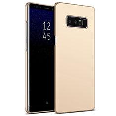 Schutzhülle Kunststoff Hülle Matt M09 für Samsung Galaxy Note 8 Gold
