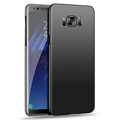 Schutzhülle Kunststoff Hülle Matt M09 für Samsung Galaxy S8 Plus Schwarz