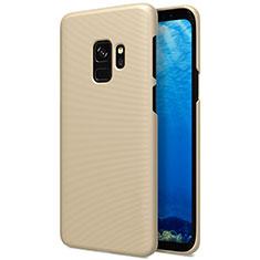 Schutzhülle Kunststoff Hülle Matt M09 für Samsung Galaxy S9 Gold