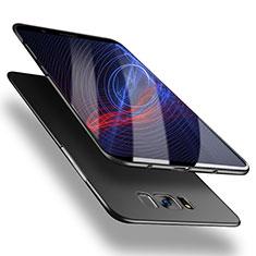 Schutzhülle Kunststoff Hülle Matt M11 für Samsung Galaxy S8 Plus Schwarz