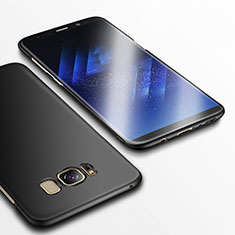 Schutzhülle Kunststoff Hülle Matt M14 für Samsung Galaxy S8 Plus Schwarz