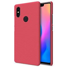 Schutzhülle Kunststoff Hülle Punkte Loch für Xiaomi Mi 8 SE Rot