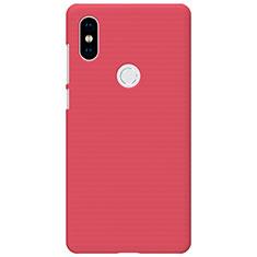 Schutzhülle Kunststoff Hülle Punkte Loch für Xiaomi Mi Mix 2S Rot