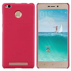 Schutzhülle Kunststoff Hülle Punkte Loch für Xiaomi Redmi 3X Rot