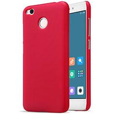 Schutzhülle Kunststoff Hülle Punkte Loch für Xiaomi Redmi 4X Rot