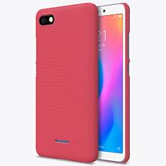 Schutzhülle Kunststoff Hülle Punkte Loch für Xiaomi Redmi 6A Rot
