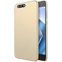 Schutzhülle Kunststoff Tasche Matt für Asus Zenfone 4 ZE554KL Gold