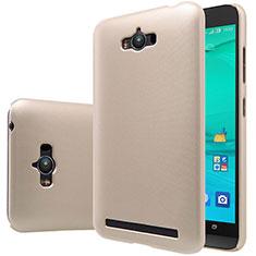 Schutzhülle Kunststoff Tasche Matt für Asus Zenfone Max ZC550KL Gold