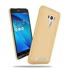 Schutzhülle Kunststoff Tasche Matt für Asus Zenfone Selfie ZD551KL Gold