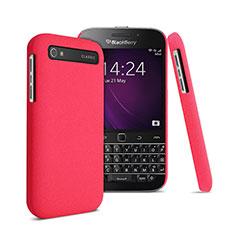 Schutzhülle Kunststoff Tasche Matt für Blackberry Classic Q20 Rot