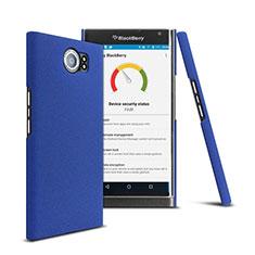 Schutzhülle Kunststoff Tasche Matt für Blackberry Priv Blau