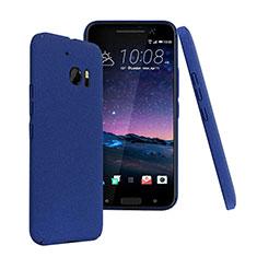 Schutzhülle Kunststoff Tasche Matt für HTC 10 One M10 Blau