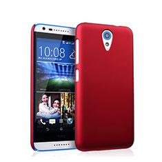 Schutzhülle Kunststoff Tasche Matt für HTC Desire 620 Rot