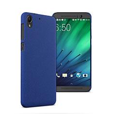 Schutzhülle Kunststoff Tasche Matt für HTC Desire 728 728g Blau