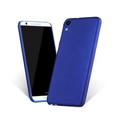 Schutzhülle Kunststoff Tasche Matt für HTC Desire 820 Blau