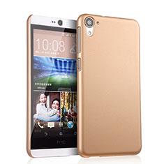 Schutzhülle Kunststoff Tasche Matt für HTC Desire 826 826T 826W Gold