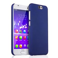 Schutzhülle Kunststoff Tasche Matt für HTC One A9 Blau