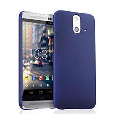 Schutzhülle Kunststoff Tasche Matt für HTC One E8 Blau