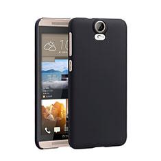 Schutzhülle Kunststoff Tasche Matt für HTC One E9 Plus Schwarz