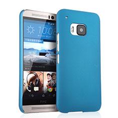 Schutzhülle Kunststoff Tasche Matt für HTC One M9 Hellblau