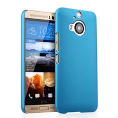 Schutzhülle Kunststoff Tasche Matt für HTC One M9 Plus Hellblau