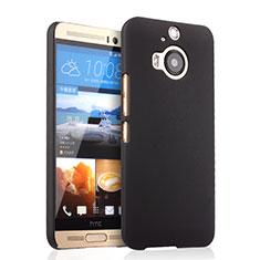 Schutzhülle Kunststoff Tasche Matt für HTC One M9 Plus Schwarz