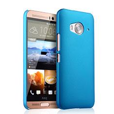 Schutzhülle Kunststoff Tasche Matt für HTC One Me Hellblau