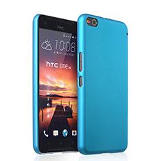 Schutzhülle Kunststoff Tasche Matt für HTC One X9 Hellblau