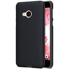 Schutzhülle Kunststoff Tasche Matt für HTC U Play Schwarz