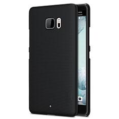 Schutzhülle Kunststoff Tasche Matt für HTC U Ultra Schwarz