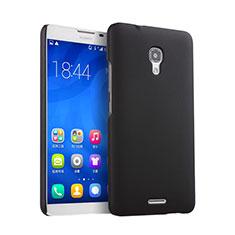 Schutzhülle Kunststoff Tasche Matt für Huawei Ascend Mate 2 Schwarz