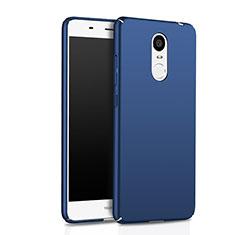 Schutzhülle Kunststoff Tasche Matt für Huawei Enjoy 6 Blau