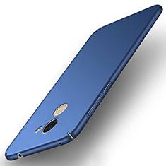 Schutzhülle Kunststoff Tasche Matt für Huawei Enjoy 7 Plus Blau