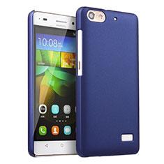 Schutzhülle Kunststoff Tasche Matt für Huawei G Play Mini Blau