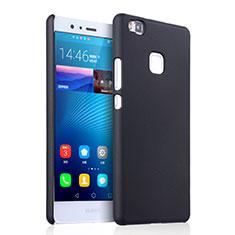 Schutzhülle Kunststoff Tasche Matt für Huawei G9 Lite Schwarz