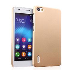 Schutzhülle Kunststoff Tasche Matt für Huawei Honor 6 Gold