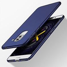 Schutzhülle Kunststoff Tasche Matt für Huawei Honor 6X Blau