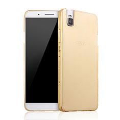 Schutzhülle Kunststoff Tasche Matt für Huawei Honor 7i shot X Gold