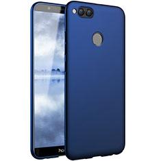 Schutzhülle Kunststoff Tasche Matt für Huawei Honor Play 7X Blau