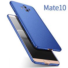 Schutzhülle Kunststoff Tasche Matt für Huawei Mate 10 Blau