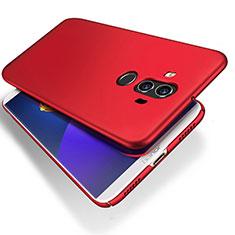 Schutzhülle Kunststoff Tasche Matt für Huawei Mate 10 Pro Rot