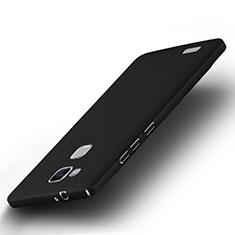 Schutzhülle Kunststoff Tasche Matt für Huawei Mate 7 Schwarz