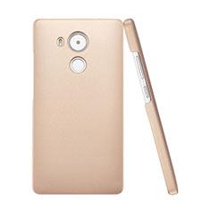 Schutzhülle Kunststoff Tasche Matt für Huawei Mate 8 Gold