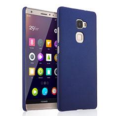 Schutzhülle Kunststoff Tasche Matt für Huawei Mate S Blau