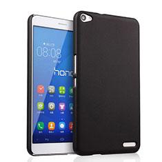 Schutzhülle Kunststoff Tasche Matt für Huawei MediaPad X2 Schwarz
