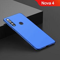 Schutzhülle Kunststoff Tasche Matt für Huawei Nova 4 Blau