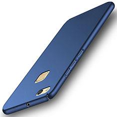 Schutzhülle Kunststoff Tasche Matt für Huawei P10 Lite Blau