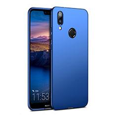 Schutzhülle Kunststoff Tasche Matt für Huawei P20 Lite Blau